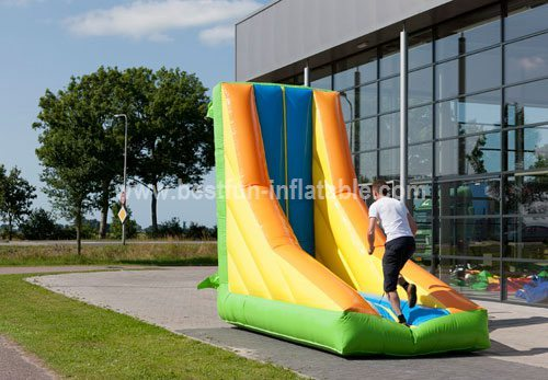 Inflatable parkour sport game