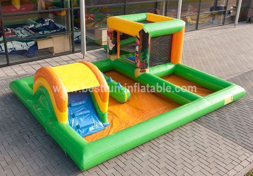 Inflatable playzone creative learning center