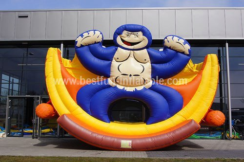 Inflatable Rolling Monkey Sport Game