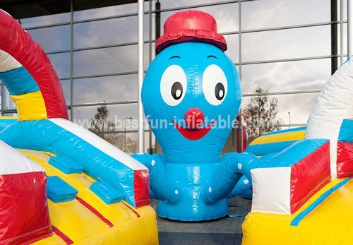 Octopus Inflatable Structure Obstacle Course