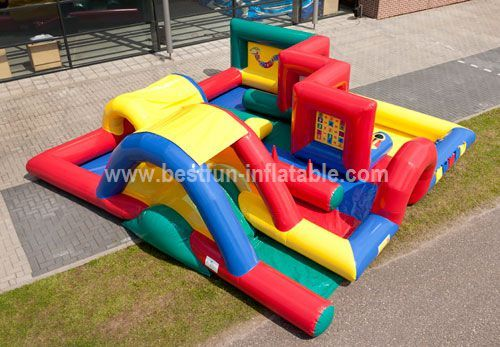 Outdoor Inflatable Playground Equipment