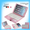 New list colorful case bluetooth keyboard leather case for Popular Ipad Mini 1 2