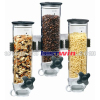 Triple Wall Mount Dispenser/cereal dispenser