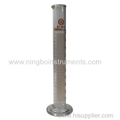 glass measuring cylinder; 100ml