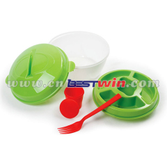 Promotional lunch bowl/plastic salad kit
