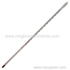 Home brewing glass thermometer ;