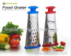 Food grader stainless steel multi tower cheese grater
