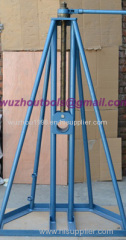 Made Of Cast Iron Ground-Cable Laying Cable drum trestles Cable Drum Jacks