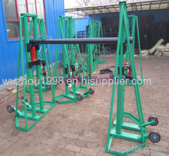 Cable Drum Jacks Cable Drum Handling Hydraulic lifting jacks for cable drums