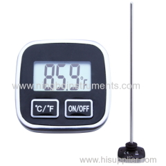 Digital Wine Thermometer; digital long probe thermoemter