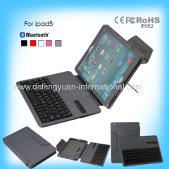 ABS Fashionable Stand Case Bluetooth Keyboard for Apple Ipad 5