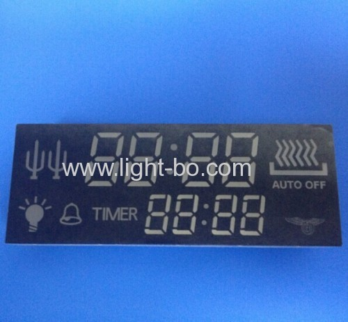 Custom 7 Segment LED Display for Oven Timer - 90*34*10mm