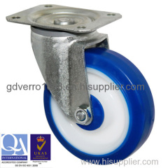Swivel top plate fitting TPE casters