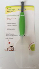 Plastic ice cream spoon