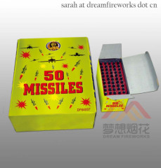 50S SATURN MISSILES Chinese Firework Missile factory manufacturer exporter