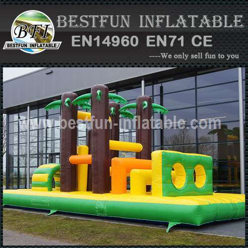 Inflatable Obstacle Course Jungle 9M