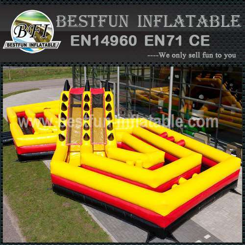 The Battle Inflatable Structure Course