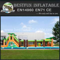 Obstacle Course Inflatable Adventures