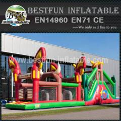 Inflatable Obstacle Course Western 17M