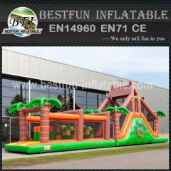 Inflatable Obstacle Course Jungle 17.3M