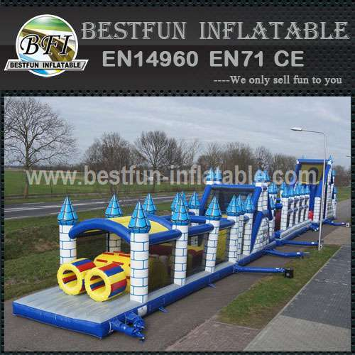 Inflatable structure Medieval Obstacle Mega 46.5m
