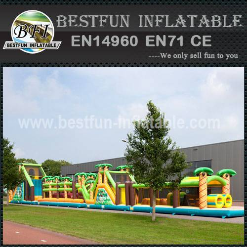 Inflatable Mega Obstacle Jungle 46.5M
