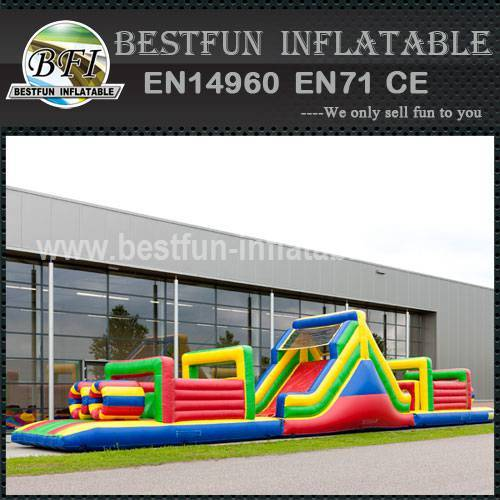 Inflatable Obstacle Course XXL 21M