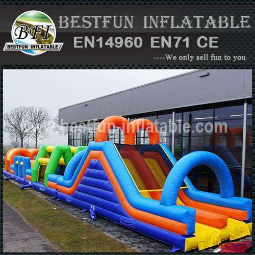 Inflatable Obstacle Course Dual 27M