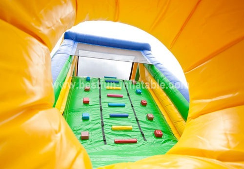 Attractive inflatable obstacle course