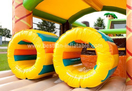 Giant cheap adult inflatable obstacle course