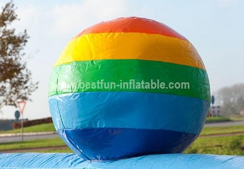 Inflatable Climbing Rock Mountain