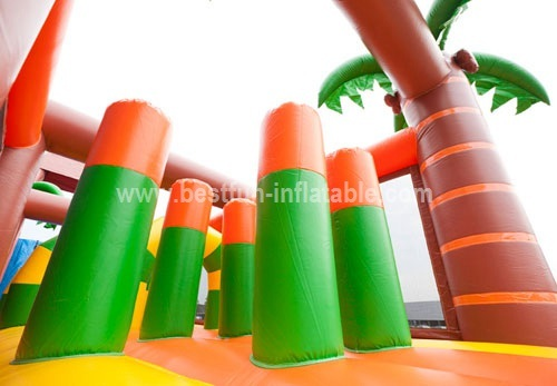 Jungle outdoor obstacle course