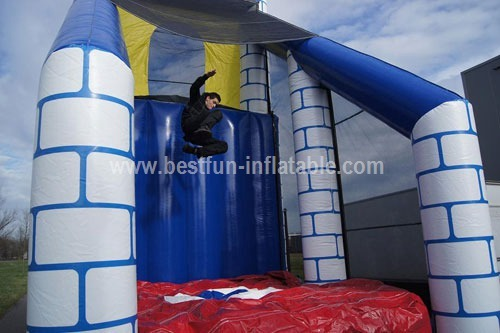 Mega inflatable playground obstacles course