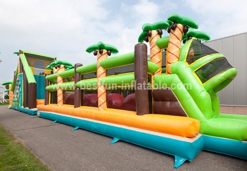 Mega Inflatable Sports Obstacle Course