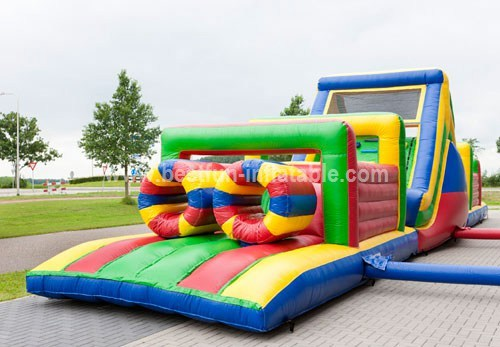 Multifunction inflatable obstacle course