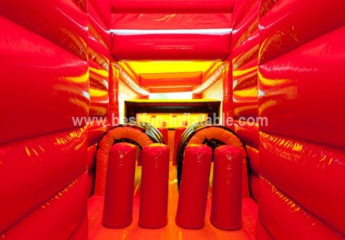Storm Track Truck Inflatable Obstacle Course