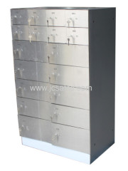 Hotel safe deposit box for guests