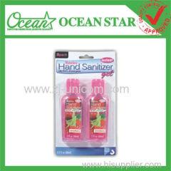 60ML*2pk waterless alcohol hand sanitizer