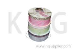 Ladies Patterned Nested Boxes