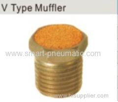 V Type Muffler--- Iron