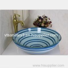 vanity top glass counter glass sanitary ware