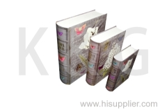 Book Shape Paper Box Set Butterfly