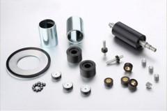 Polymer bonded ndfeb magnets