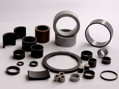 rare earth polymer bonded magnets