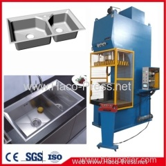 C-Frame Hydraulic Press for CE Safety Standards