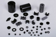 Rare earth polymer magnets