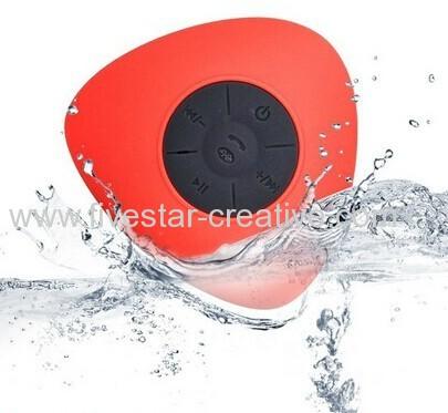 Mini Waterproof Wireless Bluetooth Speaker Shower Pool Car Handsfree Mic from China supplier