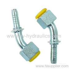 20141 swaged hose fitting straight metric female multi seal fitting