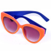 2014 New Style TR90 Custom Sunglasses Wholesale Double Layer Double Color Sunglasses