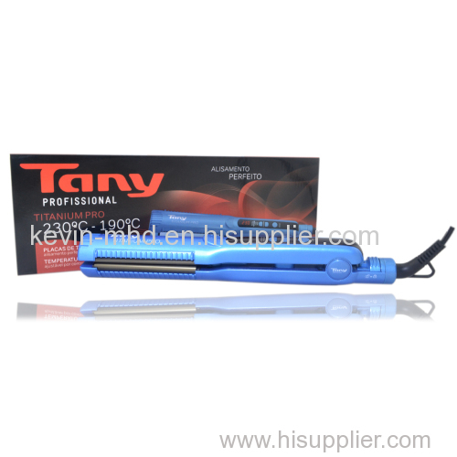 1.25 inch Negative ion and Vibration function hair straightener